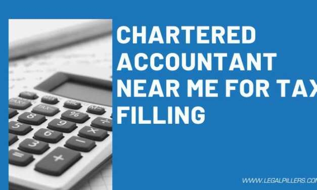CHARTERED ACCOUNTANT NEAR ME FOR TAX FILING